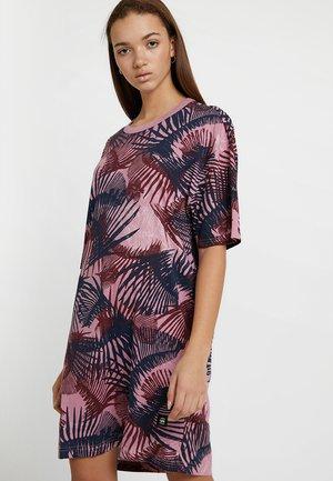 YIVA R DRESS WMN 1\2 SLV - Jersey dress - milk/deep ginger