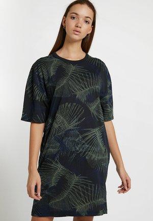 YIVA R DRESS WMN 1\2 SLV - Vestito di maglina - siali blue/black