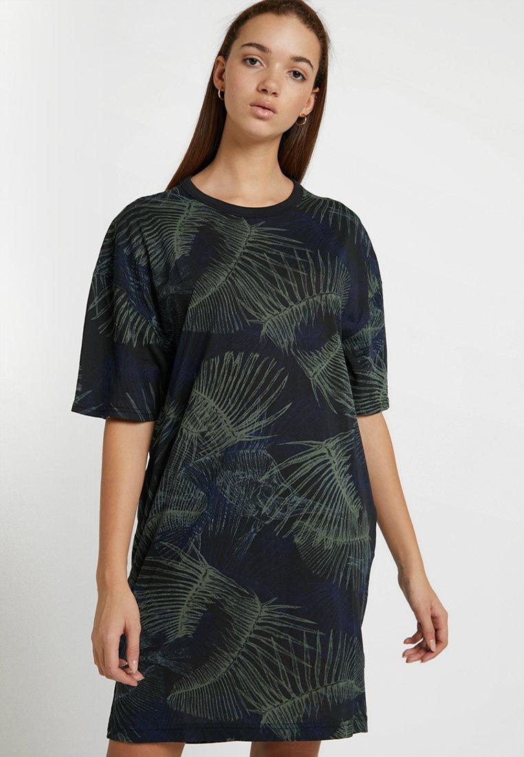 G-Star - YIVA R DRESS WMN 1\2 SLV - Jerseykleid - siali blue/black