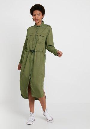ROVIC MAXI SHIRT DRESS L\S - Shirt dress - sage