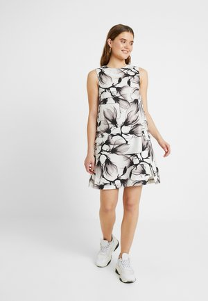 BLAKE DRESS - Vestito estivo - milk/black