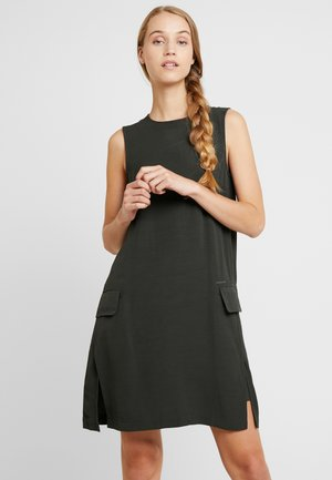 BLAKE DRESS - Korte jurk - dark green