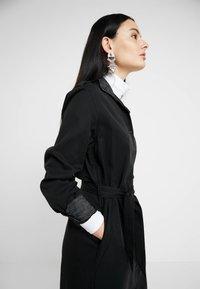 G-Star - LANC MIDI SHIRT DRESS L\S - Košilové šaty - dk black - 3