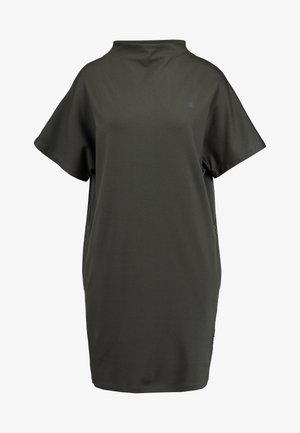 JOOSA DRESS FUNNEL WMN S\S - Jerseyklänning - green