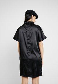 G-Star - JOOSA DRESS FUNNEL WMN S\S - Vestito di maglina - dark black - 2