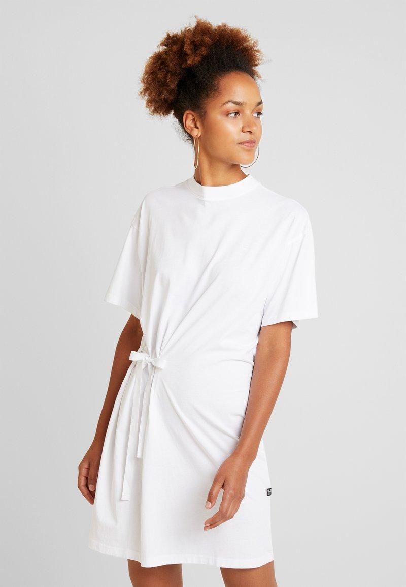 G-Star - DISEM LOOSE DRESS - Jerseykleid - white