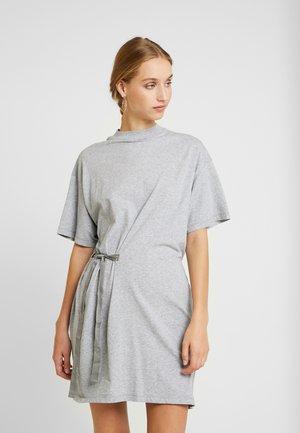 DISEM LOOSE DRESS - Robe en jersey - grey
