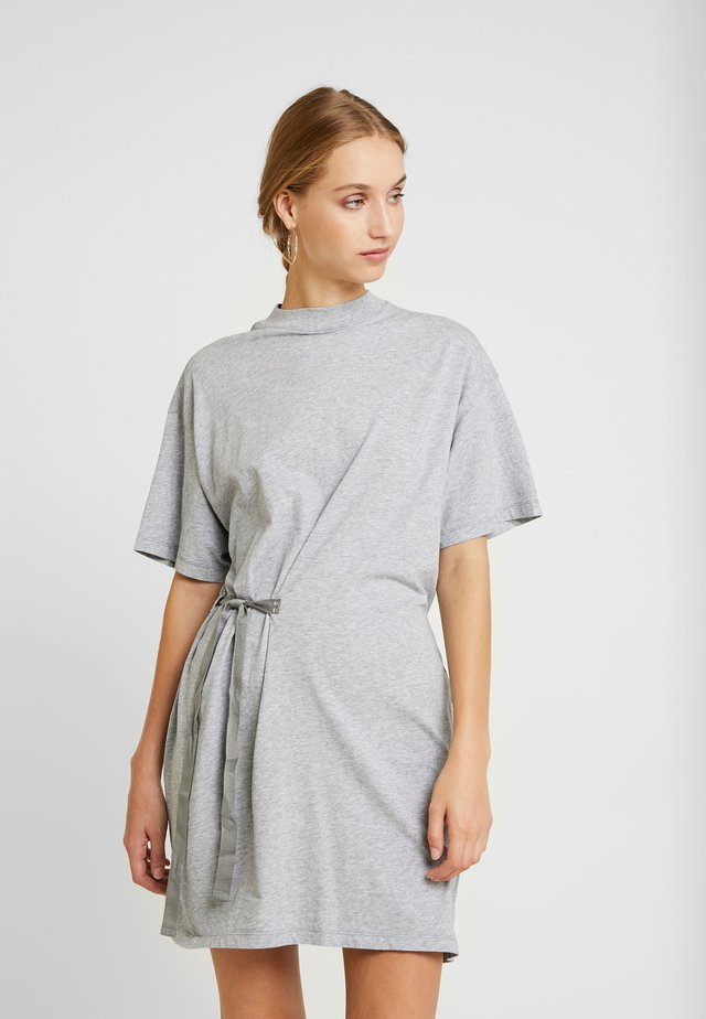 DISEM LOOSE DRESS - Vestido ligero - grey