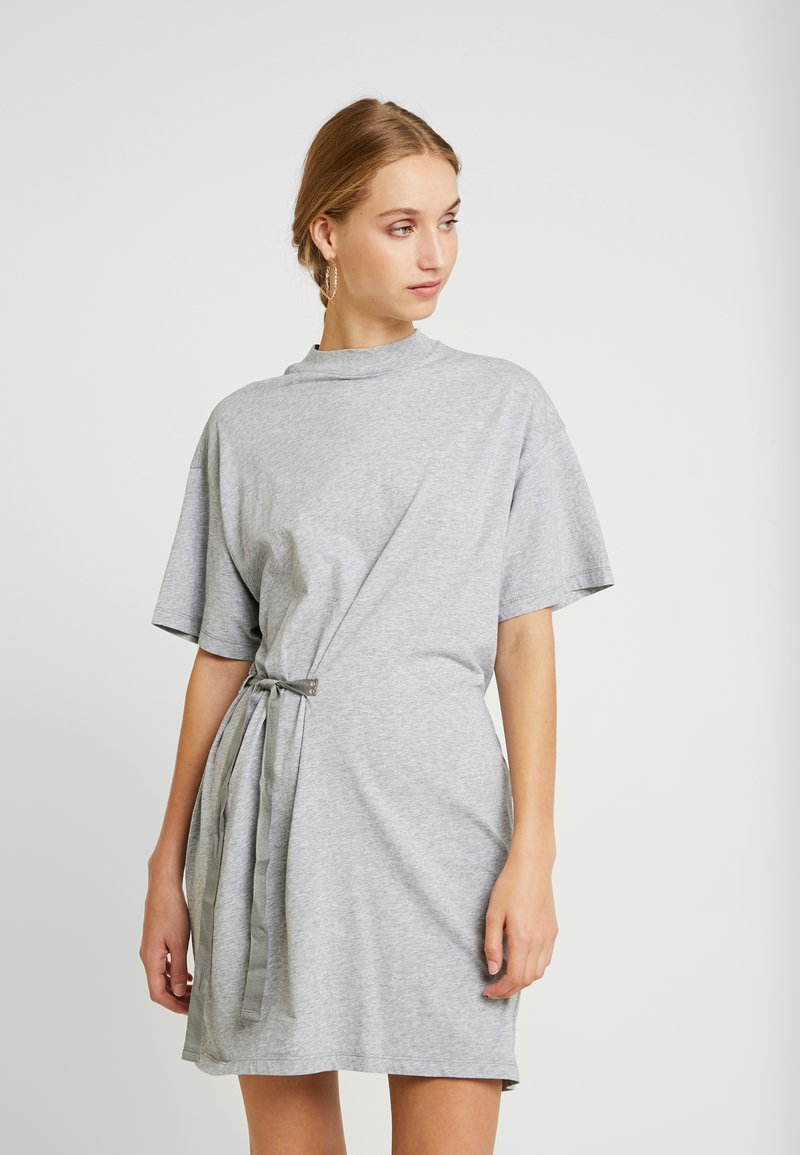G-Star - DISEM LOOSE DRESS - Jerseyjurk - grey