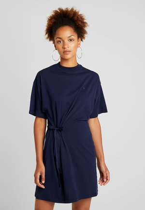 DISEM LOOSE DRESS - Jersey dress - mazarine blue