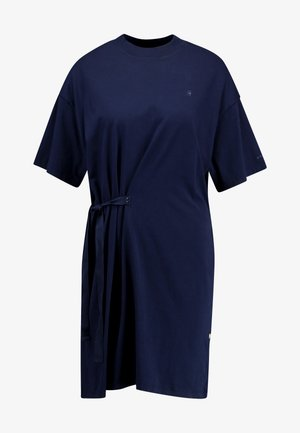 DISEM LOOSE DRESS - Žerzejové šaty - mazarine blue