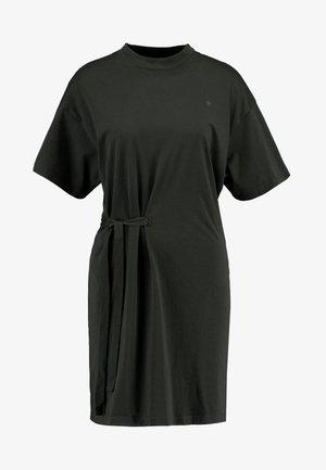 DISEM LOOSE DRESS - Jerseyjurk - asfalt