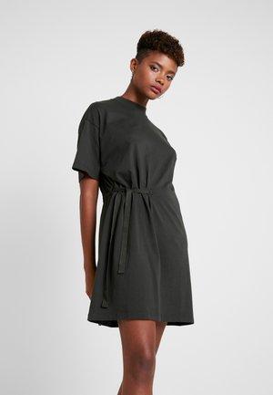 DISEM LOOSE DRESS - Vestito di maglina - asfalt