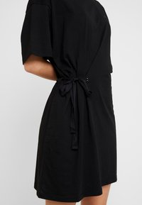 G-Star - DISEM LOOSE DRESS - Jerseyklänning - dk black - 7