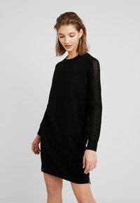 G-Star - GUZAKI DRESS - Robe pull - black - 0