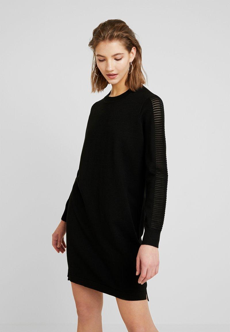 G-Star - GUZAKI DRESS - Robe pull - black