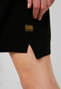 G-Star - GUZAKI DRESS - Robe pull - black - 5