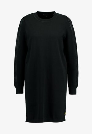 GUZAKI DRESS - Jumper dress - black