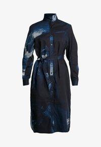 G-Star - LANC MIDI - Shirt dress - imperial blue/mazarine blue ao - 4