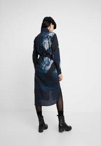 G-Star - LANC MIDI - Shirt dress - imperial blue/mazarine blue ao - 2