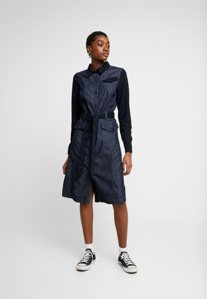 HA ARMY  - Denim dress - rinsed