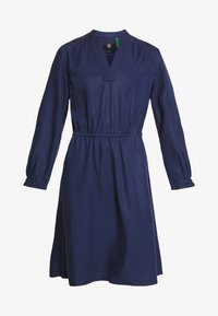 G-Star - OGEE STRAIGHT FLARE LONG SLEEVE DRESS - Kjole - sartho blue - 3