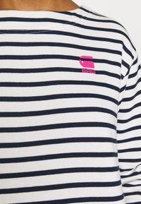 G-Star - XZYPH YD STRIPE - Day dress - sartho blue/milk - 6