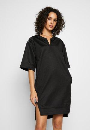 XZYPH YD STRIPE - Day dress - black