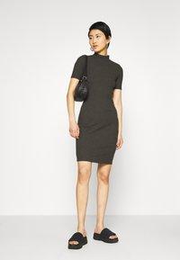 G-Star - VENETIO SLIM FUNNEL DRESS 1\2 SL - Shift dress - asfalt - 1