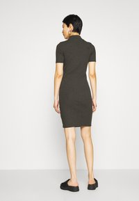 G-Star - VENETIO SLIM FUNNEL DRESS 1\2 SL - Shift dress - asfalt - 2
