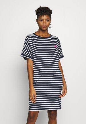 JOOSA DRESS R WMN S/S - Jerseykjole - stripe