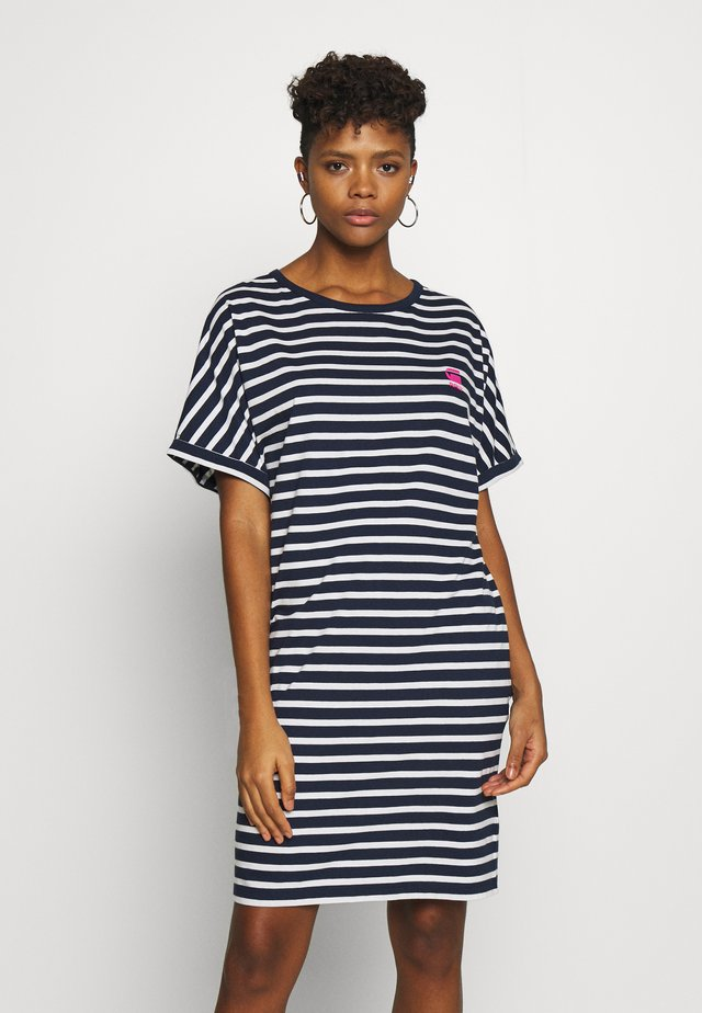 JOOSA DRESS R WMN S/S - Žerzejové šaty - stripe