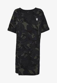 G-Star - JOOSA DRESS R WMN S/S - Jersey dress - khaki - 3