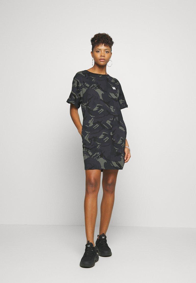 G-Star - JOOSA DRESS R WMN S/S - Jersey dress - khaki