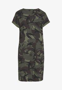 G-Star - REI HOODED - Jersey dress - green - 4