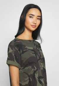 G-Star - REI HOODED - Jersey dress - green - 3
