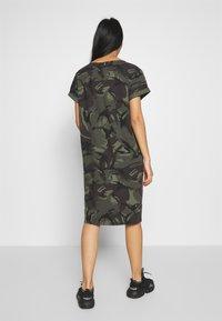 G-Star - REI HOODED - Jersey dress - green - 2