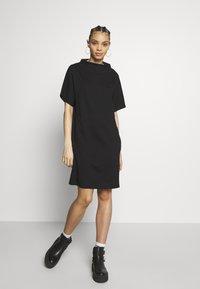 G-Star - JOOSA FUNNEL - Jersey dress - black - 2