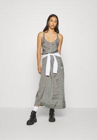 G-Star - SLIP  - Długa sukienka - grey - 1