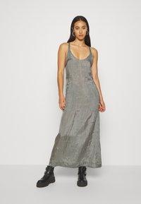 G-Star - SLIP  - Długa sukienka - grey - 0
