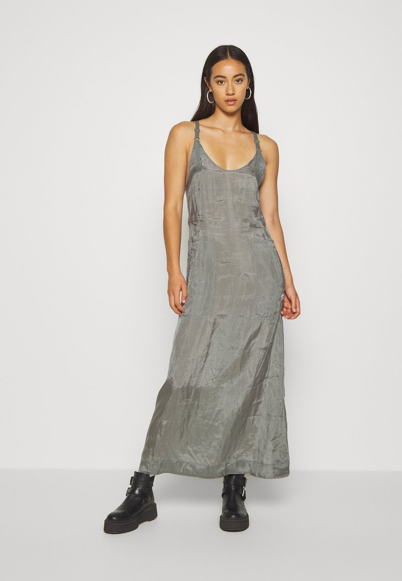 G-Star - SLIP  - Długa sukienka - grey