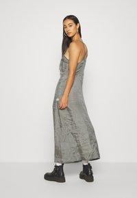 G-Star - SLIP  - Długa sukienka - grey - 2