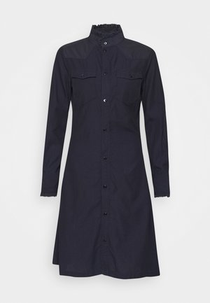 WESTERN SLIM FRILL DRESS - Vestido camisero - rinsed