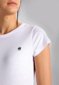 G-Star - EYBEN SLIM - T-shirt basic - white - 3