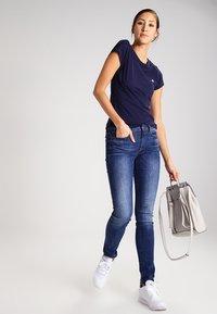G-Star - EYBEN SLIM - T-shirts - sartho blue - 1