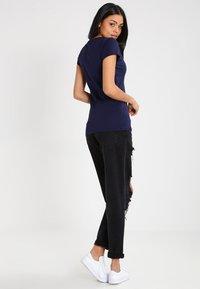 G-Star - EYBEN SLIM V T  S/S - T-shirt - bas - sartho blue - 2