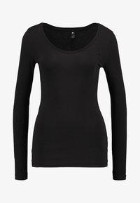 G-Star - BASE R T WMN L/S - Långärmad tröja - black - 4