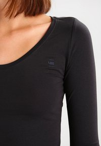 G-Star - BASE R T WMN L/S - Långärmad tröja - black - 3