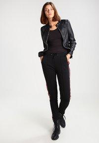 G-Star - BASE R T WMN L/S - Långärmad tröja - black - 1
