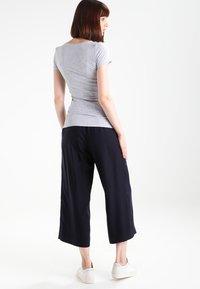 G-Star - BASE V T WMN CAP SL - T-shirt basique - grey heather - 2
